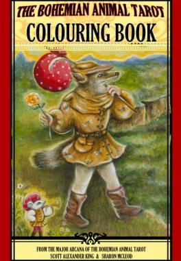 Bohemian Animal Tarot Colouring Book