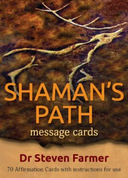 Shamans Path Message Card box lid small